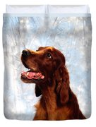 Irish Red Setter Duvet Cover