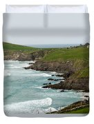 Irish Sea Coast 2 Duvet Cover