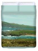 Irish Sea Coast 3 Duvet Cover