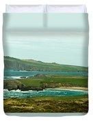 Irish Sea Coast 4 Duvet Cover