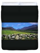 Irish Snow Scenes, Co Wicklow Duvet Cover
