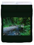 Iron Creek  Duvet Cover