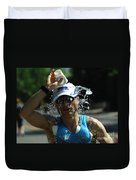 Ironman 2012 A Long Day Duvet Cover