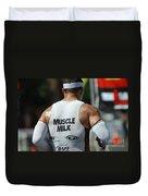 Ironman Muscle Milk Duvet Cover