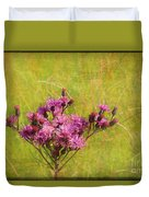 Ironweed In Autumn Duvet Cover