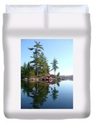 Isle - Natural Reflection Duvet Cover