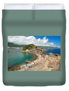 Islet In The Azores Duvet Cover