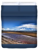 Isolated Beach  Duvet Cover