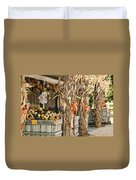 Isoms Orchard In Fall Regalia Duvet Cover