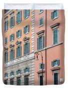 Italian Facade Duvet Cover