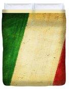 Italy Flag Duvet Cover
