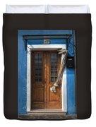 Italy Old Door Duvet Cover by Joana Kruse