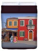 Italy Venice  Duvet Cover