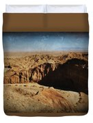 It's A Big Desert Out There Duvet Cover