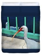Ivis Ibis And Packy Duvet Cover