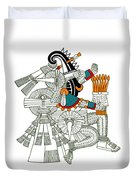 Iztlacoliuhqui, Aztec God Of Frost Duvet Cover