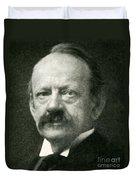 J. J. Thomson, English Physicist Duvet Cover