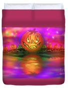 Jack And Friends By The Waters Edge Duvet Cover