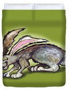 Jack Rabbit Duvet Cover