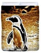 Jackass Penguin  Duvet Cover