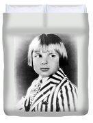 Jackie Coogan (1914-1984) Duvet Cover