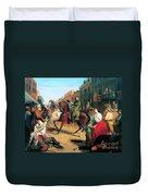 Jackson In Winchester, 1862 Duvet Cover