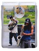 Jackson Square Jazz Duvet Cover