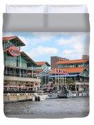 Jacksonville Florida Landing Duvet Cover