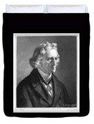 Jacob Grimm (1785-1863) Duvet Cover
