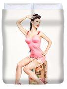 Jade Vixen Bubblegum 1076 Duvet Cover