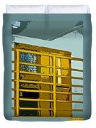 Jail Cell Duvet Cover
