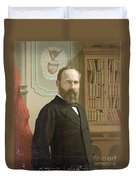 James A. Garfield, 20th American Duvet Cover