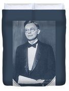 James Bryant Conant, American Chemist Duvet Cover by Science Source