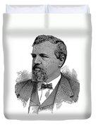 James Clair Flood (1826-1889) Duvet Cover