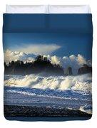 James Island Surf Duvet Cover