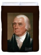 James Madison, 4th American President Duvet Cover by Photo Researchers