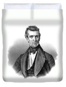 James Polk, 11th American President Duvet Cover by Photo Researchers