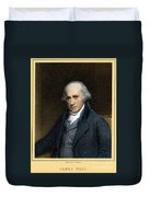 James Watt, Scottish Inventor Duvet Cover