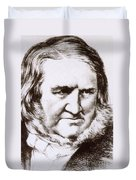James Young Simpson, Scottish Physician Duvet Cover by Science Source