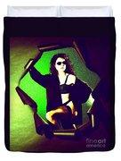 Jane Joker 2 Duvet Cover