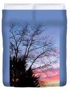 January Silhouette Duvet Cover