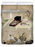 Japan: Kitchen, C1375 Duvet Cover