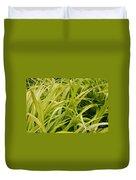 Japanese Forest Grass Duvet Cover