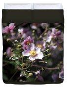 Japanese Windflowers Duvet Cover