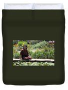 Japanese Woman Duvet Cover