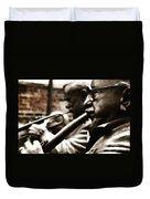 Jazz Legends Al Hirt And Pete Fountain Duvet Cover