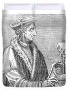 Jean Fernel, French Physician Duvet Cover