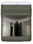 Jefferson In The Dark Duvet Cover