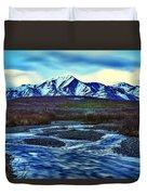 Jenny Creek Dawn Duvet Cover