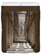 Jerusalem Steps Duvet Cover